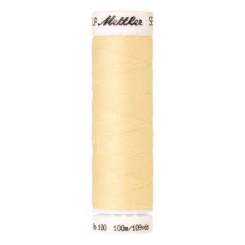 Mettler Threads - Seralon Polyester - 100m Reel - Vanilla 0129