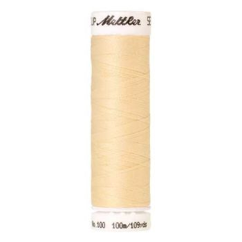 Mettler Threads - Seralon Polyester - 100m Reel - Buttercream 1455