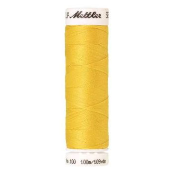 Mettler Threads - Seralon Polyester - 100m Reel - Yellow 0116