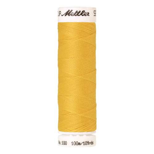 Mettler Threads - Seralon Polyester - 100m Reel - Buttercup 0113