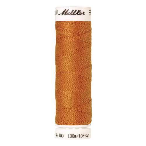 Mettler Threads - Seralon Polyester - 100m Reel - Liberty Gold 0121