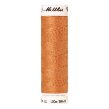 Mettler Threads - Seralon Polyester - 100m Reel - Mango 0147