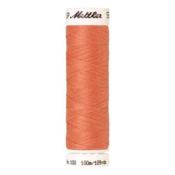 Mettler Threads - Seralon Polyester - 100m Reel - Pink Grapefruit 0137