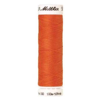 Mettler Threads - Seralon Polyester - 100m Reel - Tangerine 1335