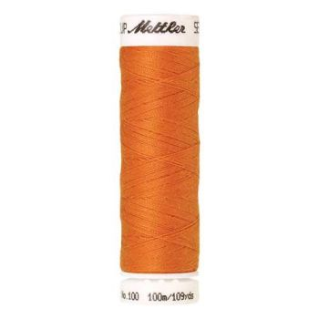 Mettler Threads - Seralon Polyester - 100m Reel - 0122 Pumpkin