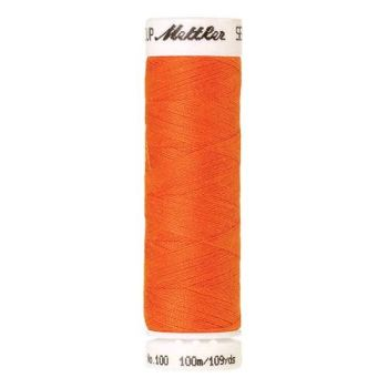 Mettler Threads - Seralon Polyester - 100m Reel - Hunter Orange 2260