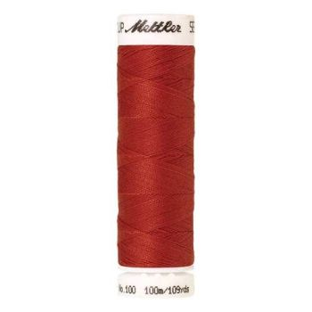 Mettler Threads - Seralon Polyester - 100m Reel - Vermillion 1336