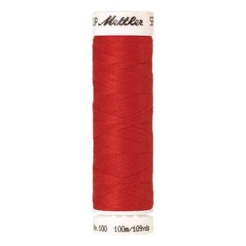 Mettler Threads - Seralon Polyester - 100m Reel - Poppy 1458