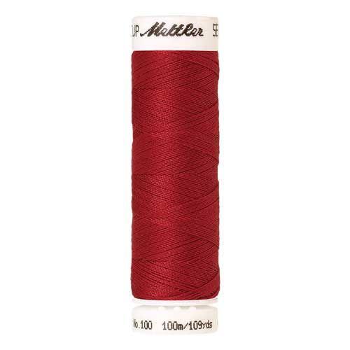Mettler Threads - Seralon Polyester - 100m Reel - Cardinal 0503