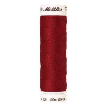 Mettler Threads - Seralon Polyester - 100m Reel - Country Red 0504