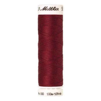 Mettler Threads - Seralon Polyester - 100m Reel - Fire Engine 0105