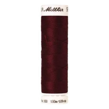 Mettler Threads - Seralon Polyester - 100m Reel - Crimson 0098