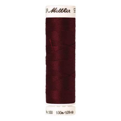 Mettler Threads - Seralon Polyester - 100m Reel - Crimson 0098