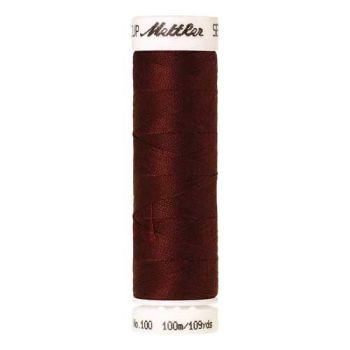 Mettler Threads - Seralon Polyester - 100m Reel - Blue Elderberry 1348