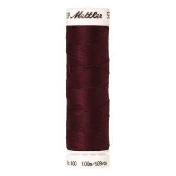 Mettler Threads - Seralon Polyester - 100m Reel - Sundried Tomatoes 0128