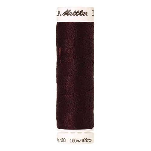 Mettler Threads - Seralon Polyester - 100m Reel - Kidney Bean 0166