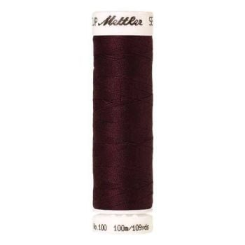 Mettler Threads - Seralon Polyester - 100m Reel - Beet Red 0111