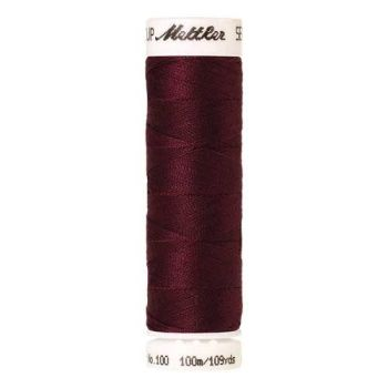 Mettler Threads - Seralon Polyester - 100m Reel - Bordeaux 0109