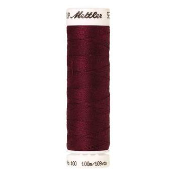 Mettler Threads - Seralon Polyester - 100m Reel - Cranberry 0918