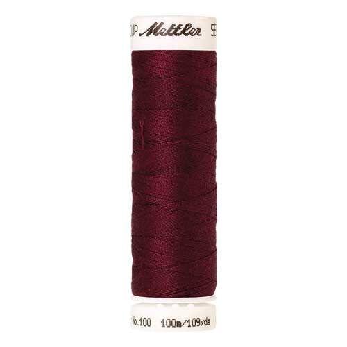Mettler Threads - Seralon Polyester - 100m Reel - Cranberry 0918