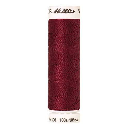 Mettler Threads - Seralon Polyester - 100m Reel - Winterberry 0106
