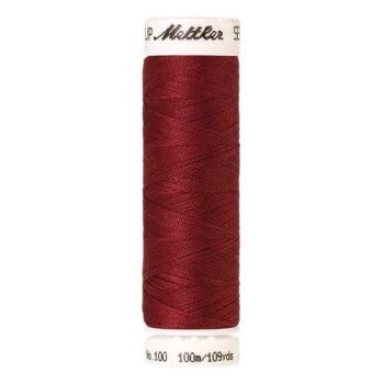 Mettler Threads - Seralon Polyester - 100m Reel - Terracotta 0642