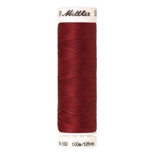 Mettler Threads - Seralon Polyester - 100m Reel - Terracotta 0642