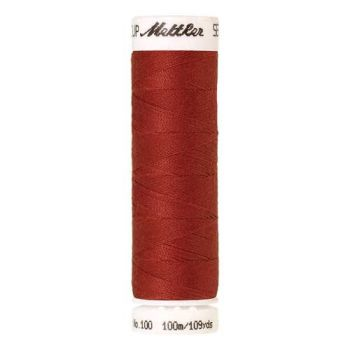 Mettler Threads - Seralon Polyester - 100m Reel - Dark Rust 0508