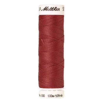Mettler Threads - Seralon Polyester - 100m Reel - Blood Orange 0623