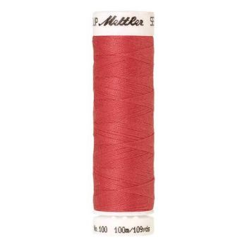 Mettler Threads - Seralon Polyester - 100m Reel - Persimmon 1402