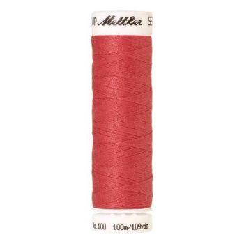 Mettler Threads - Seralon Polyester - 100m Reel - Persimmon 1402