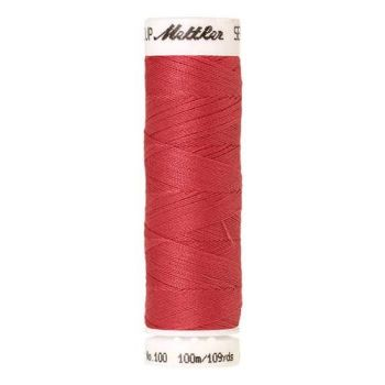 Mettler Threads - Seralon Polyester - 100m Reel - Strawberry 0089