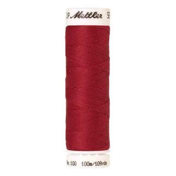 Mettler Threads - Seralon Polyester - 100m Reel - Geranium 1391