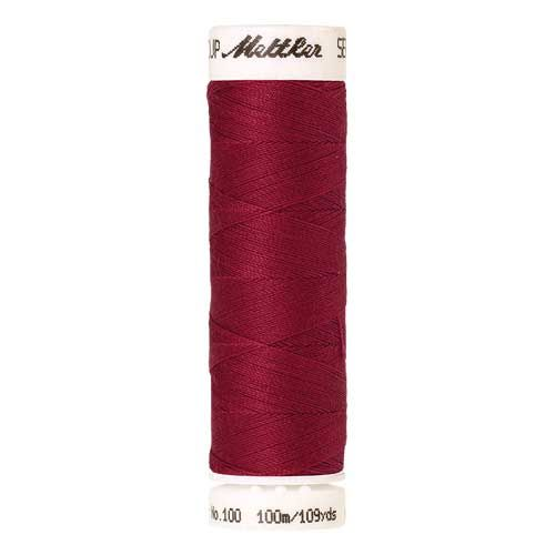 Mettler Threads - Seralon Polyester - 100m Reel - Currant 1392
