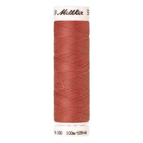 Mettler Threads - Seralon Polyester - 100m Reel - Red Sky 0622