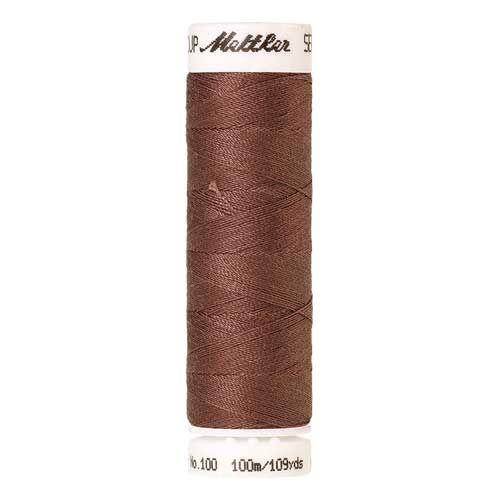 Mettler Threads - Seralon Polyester - 100m Reel - Rusty Rose 0296