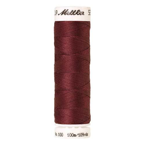 Mettler Threads - Seralon Polyester - 100m Reel - Cadmium Red 0204