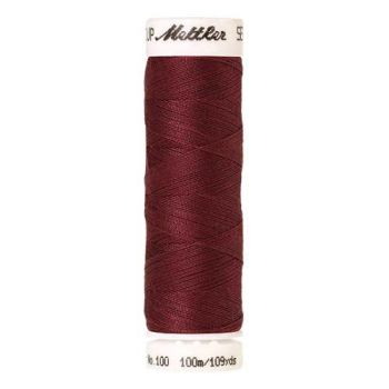 Mettler Threads - Seralon Polyester - 100m Reel - Burgundy 0639
