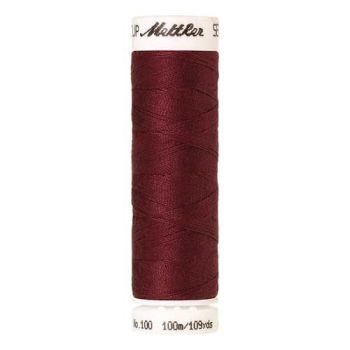 Mettler Threads - Seralon Polyester - 100m Reel - Rio Red 1459