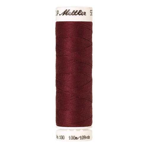 Mettler Threads - Seralon Polyester - 100m Reel - Rio Red 1459