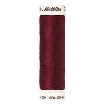 Mettler Threads - Seralon Polyester - 100m Reel - Red Marble 0871