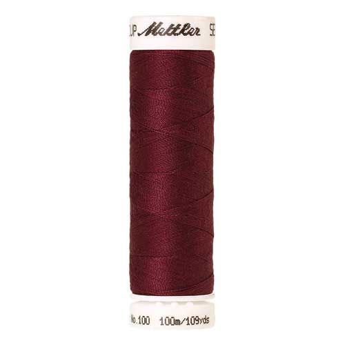 Mettler Threads - Seralon Polyester - 100m Reel - Red Marble 0871
