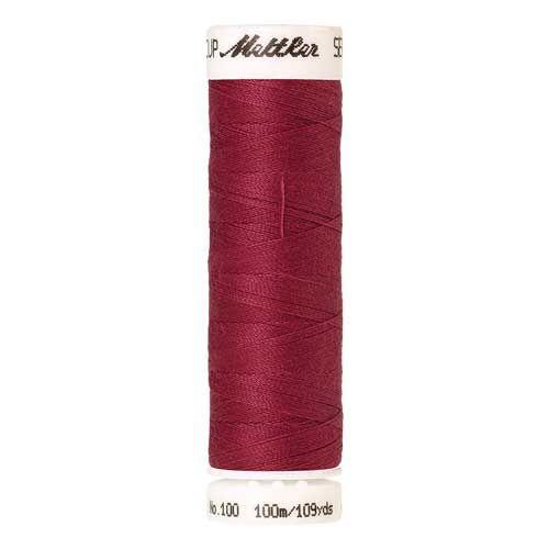 Mettler Threads - Seralon Polyester - 100m Reel - Raspberry 0641