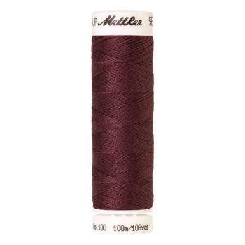 Mettler Threads - Seralon Polyester - 100m Reel - Rosewood 0153