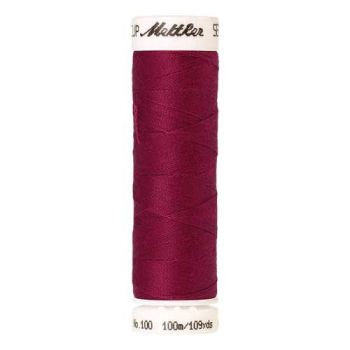 Mettler Threads - Seralon Polyester - 100m Reel - Bright Ruby 1422