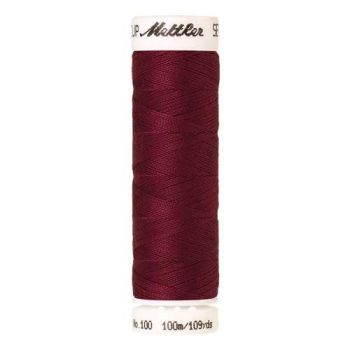 Mettler Threads - Seralon Polyester - 100m Reel - Pomegranate 0869