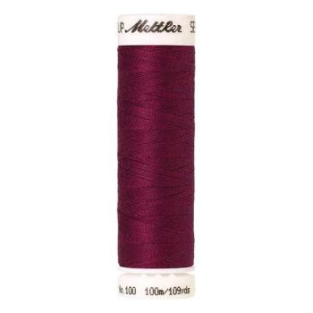 Mettler Threads - Seralon Polyester - 100m Reel - Cerise 1418
