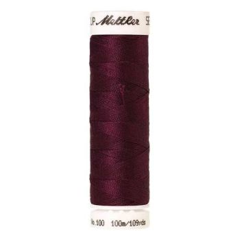 Mettler Threads - Seralon Polyester - 100m Reel - Wine 0108