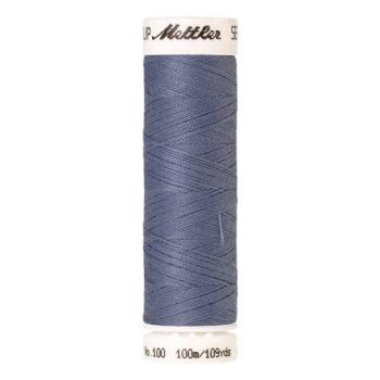 Mettler Threads - Seralon Polyester - 100m Reel - Blue Thistle 1363