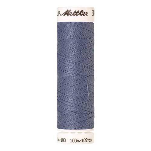 Mettler Threads - Seralon Polyester - 100m Reel - Blue Thistle 1363